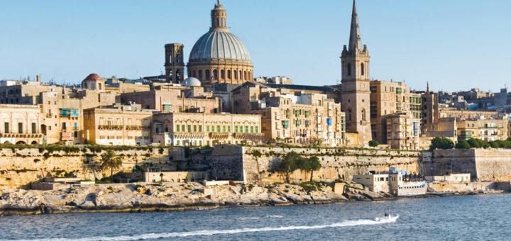 Mein Schiff in Valetta, Malta. Foto: TUI Cruises