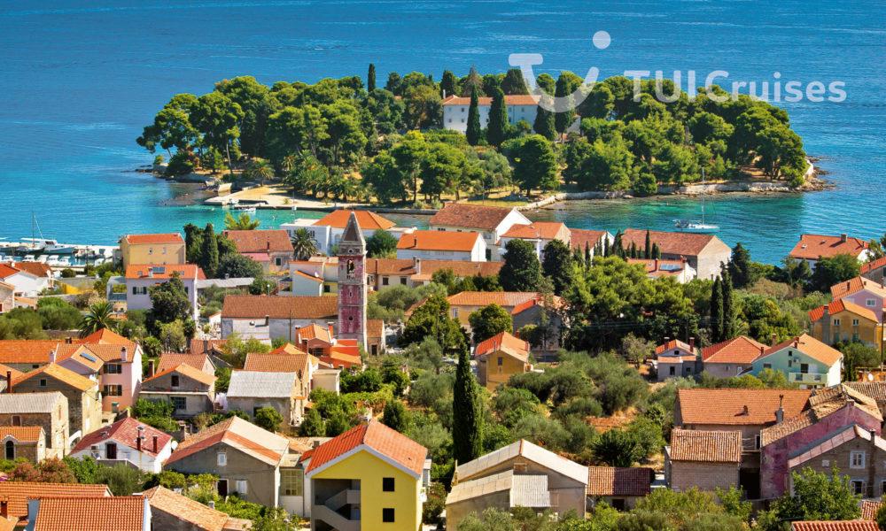 Mein Schiff in Zadar. Foto: TUI Cruises
