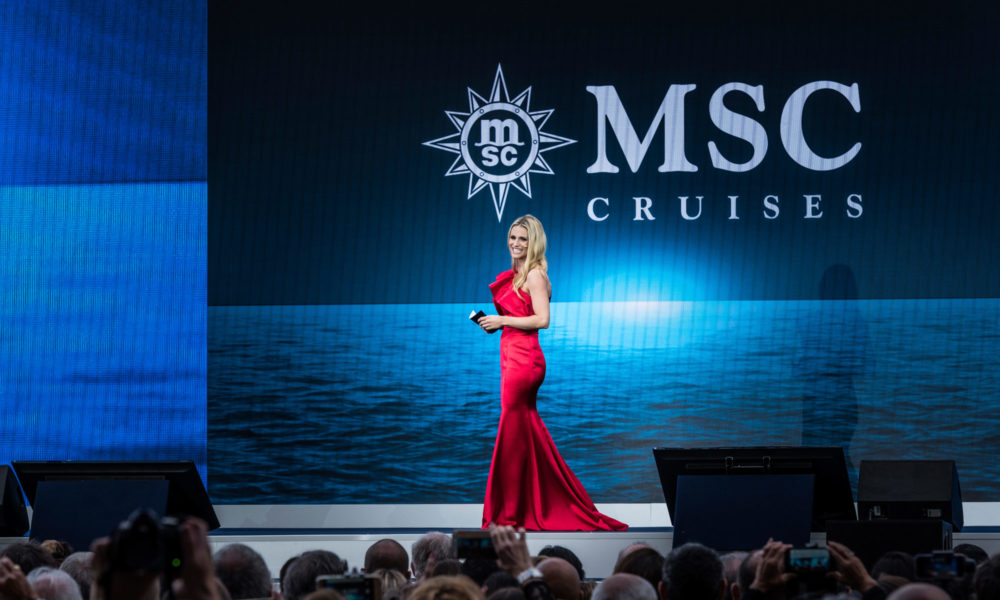Michelle Hunziger für MSC Cruises