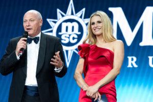 Fabio Gatti und Michelle Hunziger für MSC Cruises