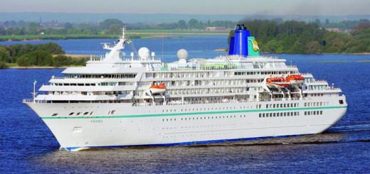 MS Amadea auf Kreuzfahrt. Foto: Phoenix Reisen