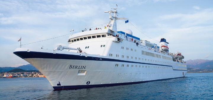 MS Berlin auf Kreuzfahrt. Foto: FTI Cruises