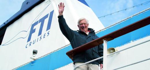 Siegfried Rauch auf der MS Berlin. Foto: FTI Cruises