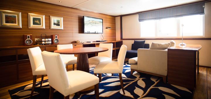 Suite auf MS Berlin. Foto: FTI Cruises