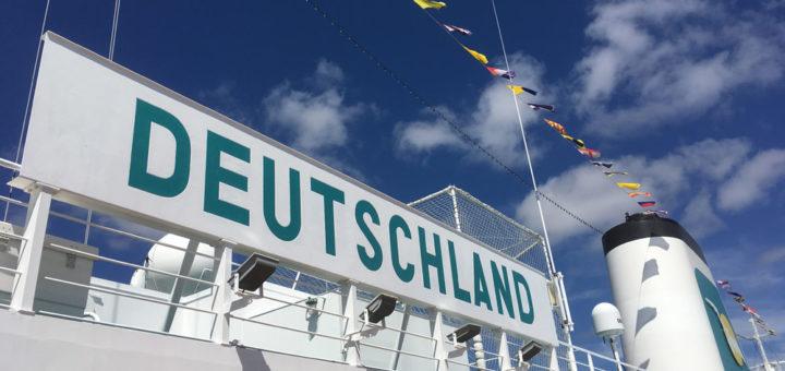 Kreuzfahrten mit der MS Deutschland