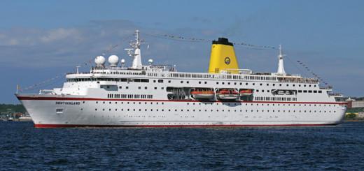 MS Deutschland auf Kreuzfahrt. Foto: Oliver Asmussen