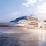 MS EUROPA auf Kreuzfahrt. Foto: Hapag-Lloyd Kreuzfahrten