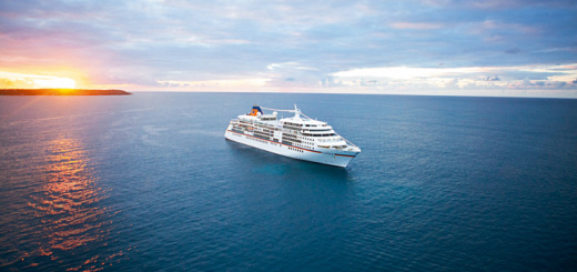 MS EUROPA auf See. Foto: Hapag-Lloyd Kreuzfahrten