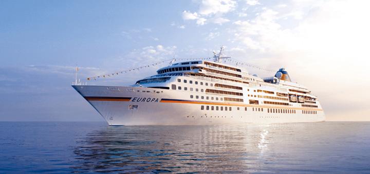 Luxusreise auf der MS Europa
