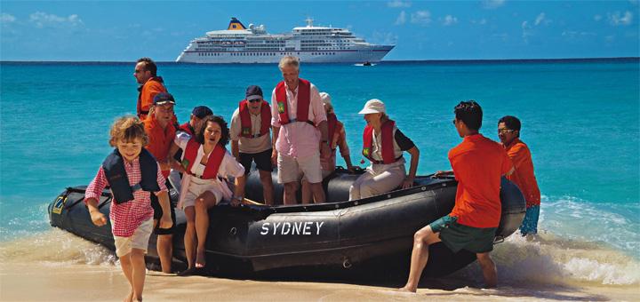 Insel-Abenteuer mit der MS EUROPA erleben. Foto: Hapag-Lloyd Kreuzfahrten