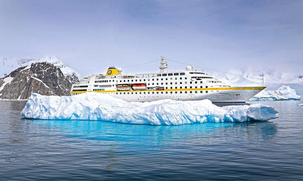 MS Hamburg in der Antarktis. Foto: Oliver Asmussen / Oceanliner Pictures