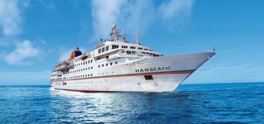 MS HANSEATIC auf Kreuzfahrt. Foto: Hapag-Lloyd Kreuzfahrten