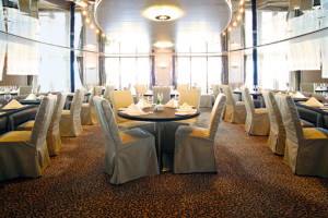 Bistro Lemaire auf MS HANSEATIC. Foto: Hapag-Lloyd Cruise