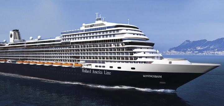 Kreuzfahrt mit MS Koningsdam