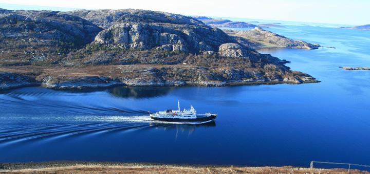 MS Lofoten von Hurtigruten in Norwegen. Foto: Hurtigruten