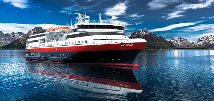 MS Norway Explorer von Hurtigruten. Foto: Hurtigruten