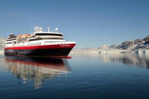 MS Spitsbergen von Hurtigruten