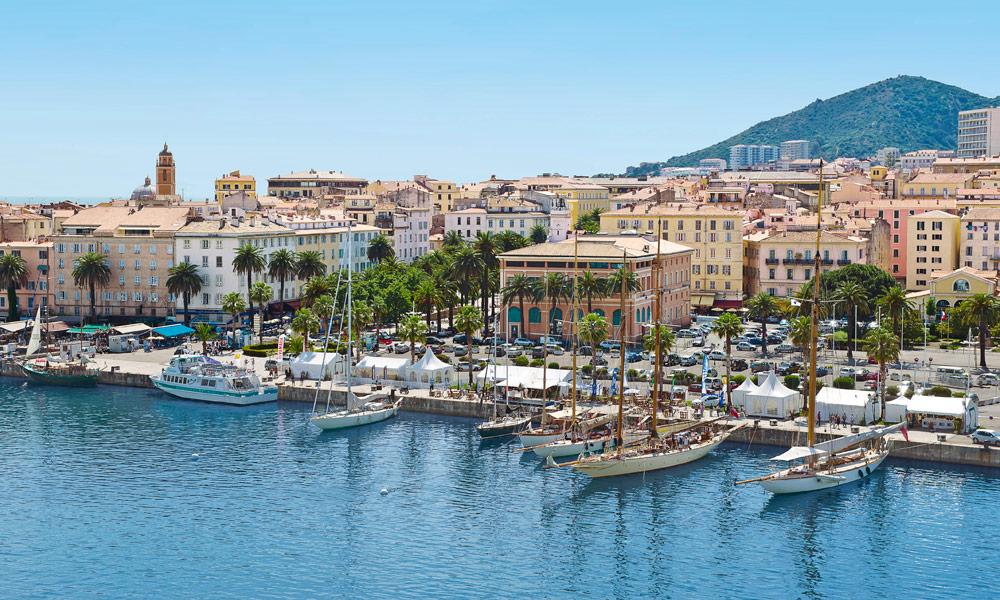 MSC Kreuzfahrten in Ajaccio, Korsika. Foto: MSC Cruises