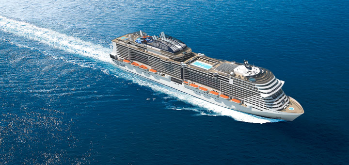 Kreuzfahrt mit MSC Meraviglia