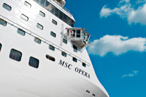 MSC Opera. Foto: MSC Kreuzfahrten