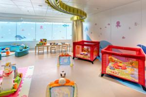 Baby-Club auf MSC Opera. Foto: MSC Kreuzfahrten