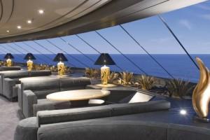 MSC Preziosa Top Sail Lounge. Foto: MSC Crociere