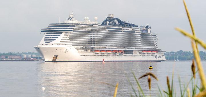 MSC Seaview in Kiel