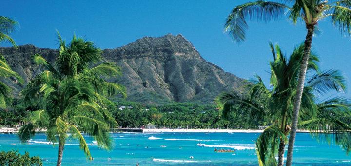 Hawaii Waikiki Beach. Foto: Norwegian Cruise Line