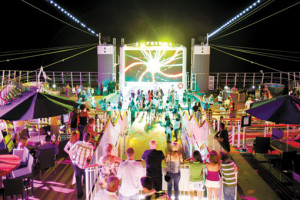 Nightlife bei Norwegian. Foto: Norwegian Cruise Line