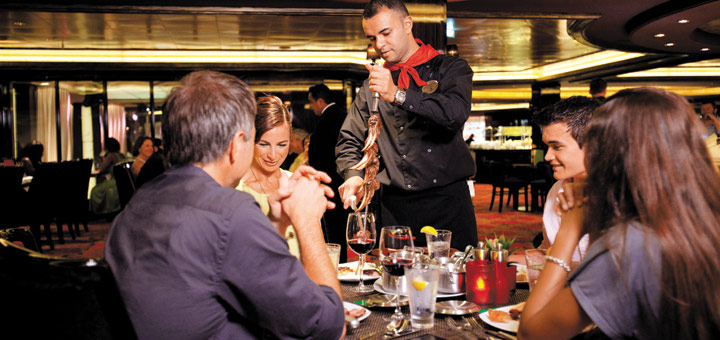Restaurants bei Norwegian. Foto: Norwegian Cruise Line