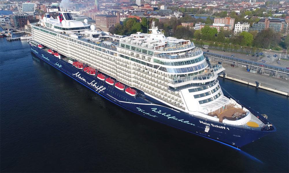 Die neue Mein Schiff 1. Foto: inselvideo
