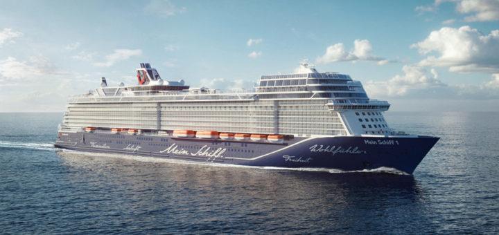 Die neue Mein Schiff 1. Foto: TUI Cruises
