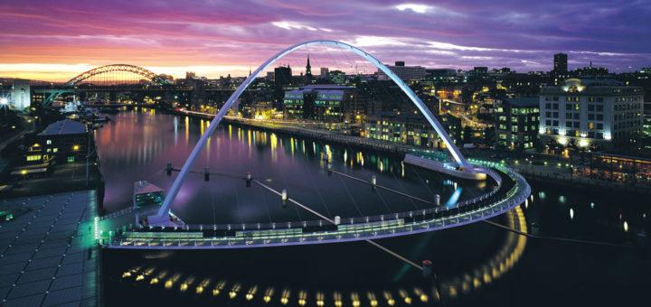 Fähre von Amsterdam nach Newcastle