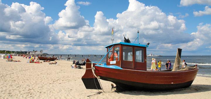nicko cruises auf Usedom an der Ostsee