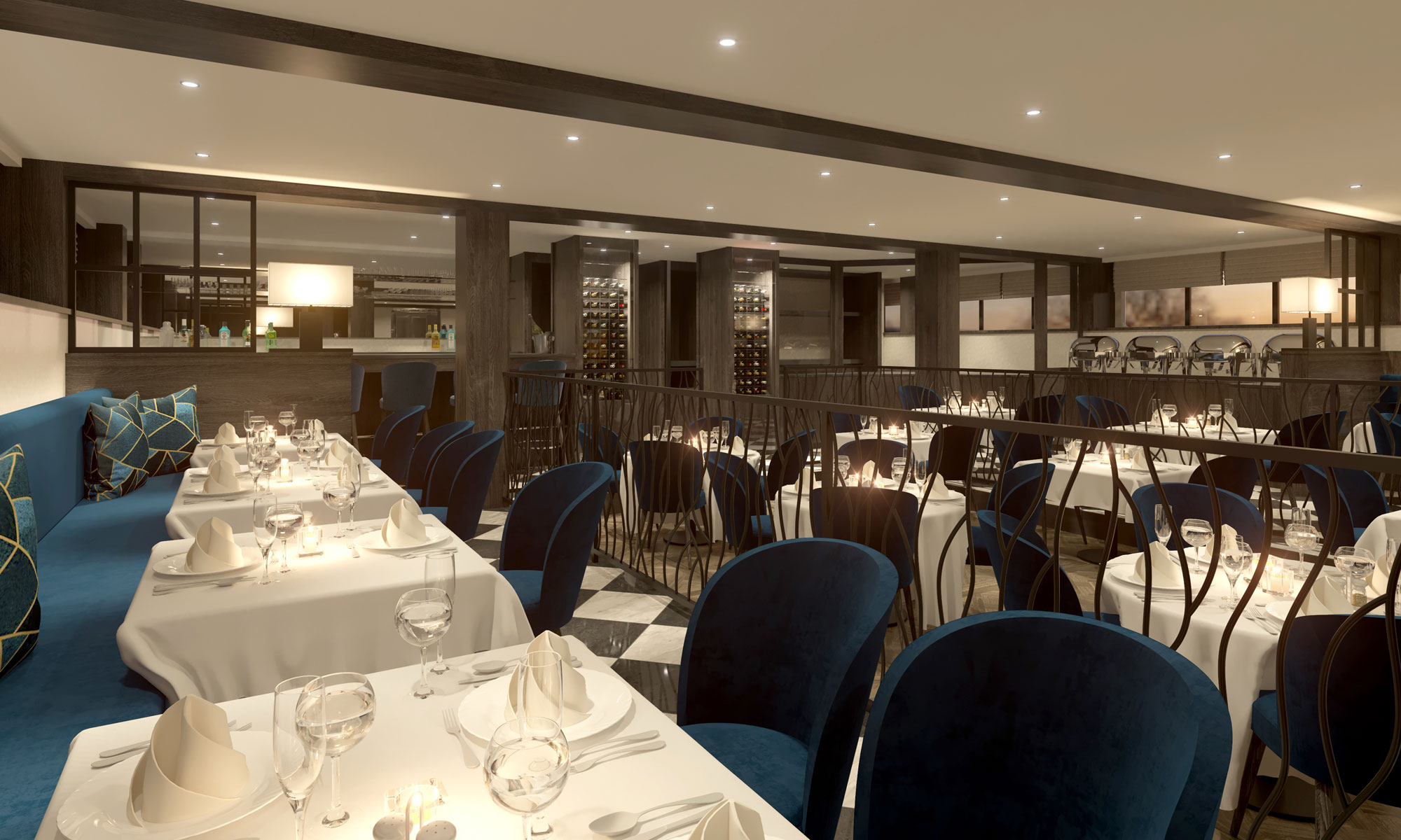nickoVISION Spezialitäten-Restaurant. Foto: nicko cruises