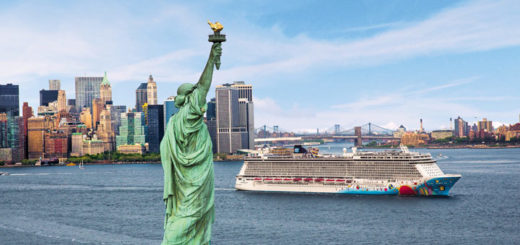Norwegian Breakaway in New York. Foto: Norwegian Cruise Line