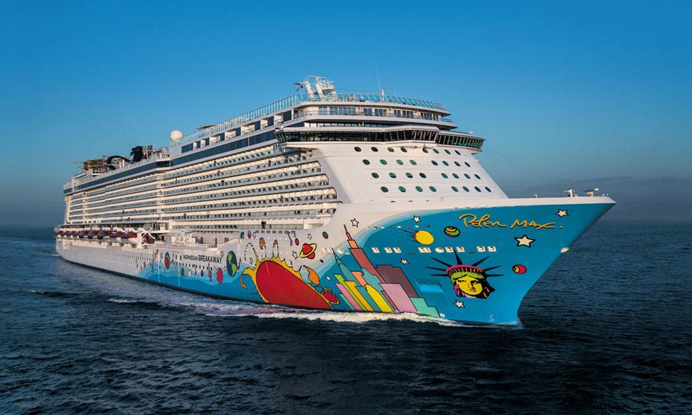 Norwegian Breakaway. Foto: Norwegian Cruise Line