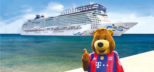 Auf Fußball-Kreuzfahrt mit der Norwegian Epic. Foto: Sea Side Story