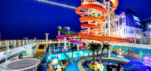 Aqua Park auf der Norwegian Getaway. Foto: Norwegian Cruise Line