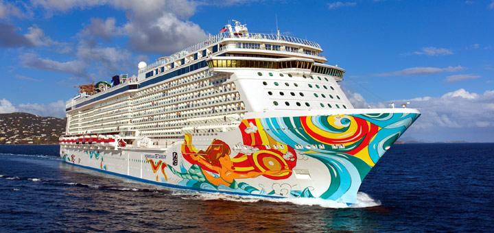 Norwegian Getaway. Foto: Norwegian Cruise Line
