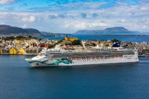 Norwegian Jade in Ålesund, Norwegen. Foto: Norwegian Cruise Line