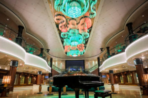 The Atrium auf der Norwegian Jade. Foto: Norwegian Cruise Line