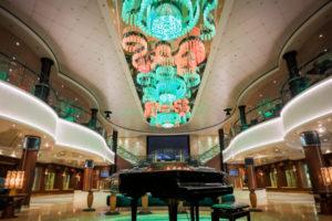 The Atrium auf der Norwegian Jade. Foto: Norwegian Cruise Line
