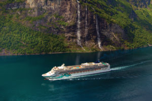 Norwegian Jade in Norwegen. Foto: Norwegian Cruise Line