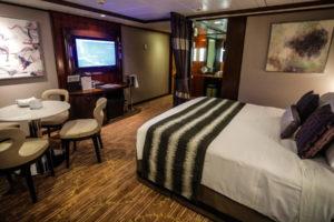 Penthouse-Balkon-Suite auf der Norwegian Jade. Foto: Norwegian Cruise Line