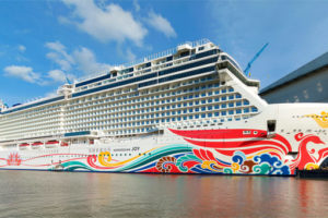 Norwegian Joy. Foto: Meyer Werft