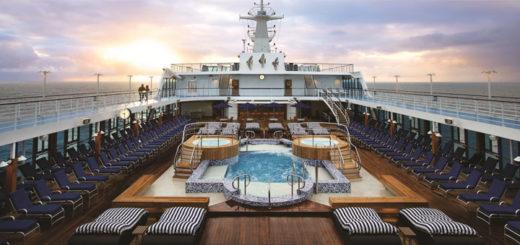 Oceania Cruises an Deck