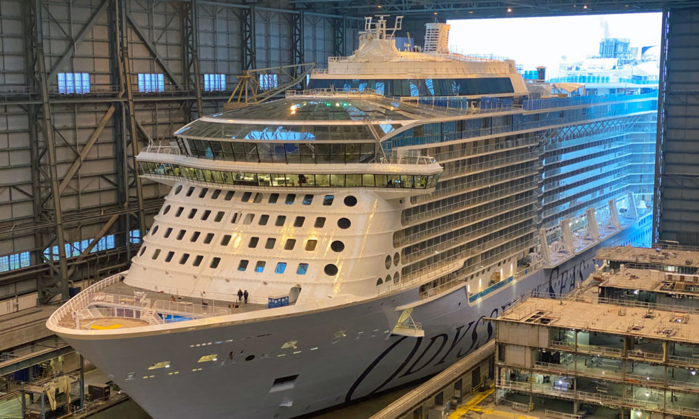 Ausdocken der Odyssey of the Seas