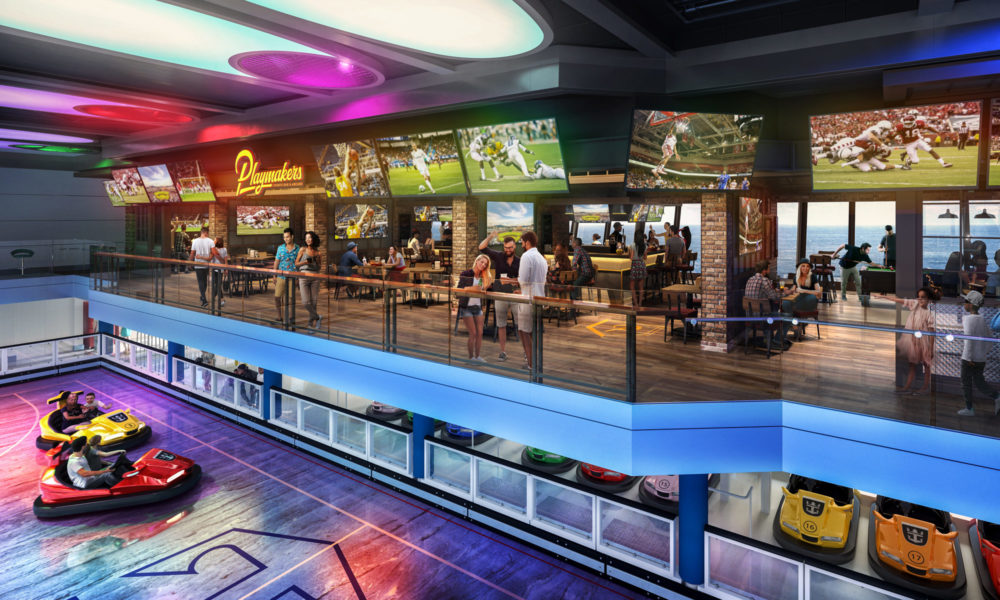 Playmakers auf der Odyssey of the Seas