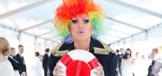 Olivia Jones entert Mein Schiff. Foto: TUI Cruises